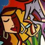 "Serenade 36x48"" 2009 - Mixed Media on canvas - Prints Available"
