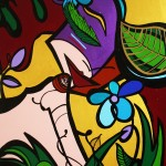 "Miss All Natural – 2010 - 24"" x 30"" - Acrylic on Canvas"