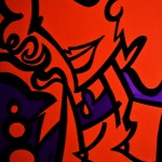 "Miss Red Light Special - 2010 - 24"" x 30"" - Acrylic on Canvas"